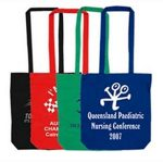 Cotton Double Long Handle Promo Conference Bag