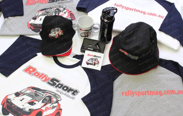 Rally Sport Mag Merchandise