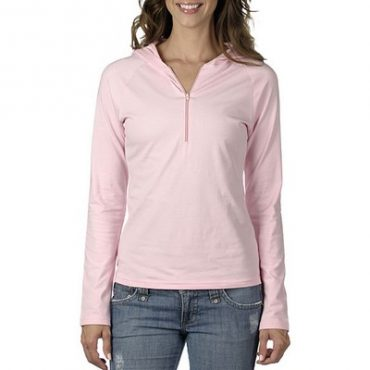 Half-Zip Pullover Coloured...