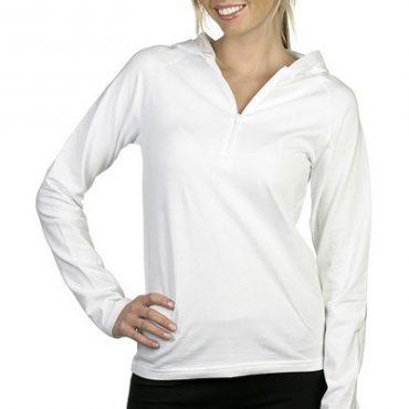 Half-Zip Pullover White...