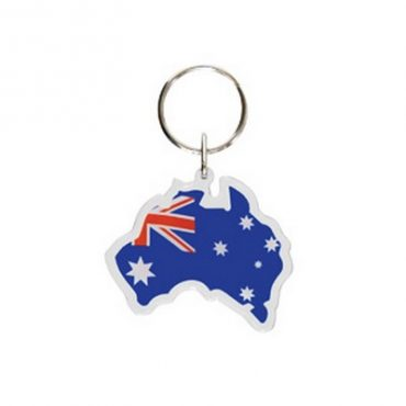 Australia Map Keyring...