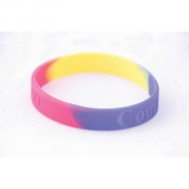 Multi-Coloured Branded Silicone...
