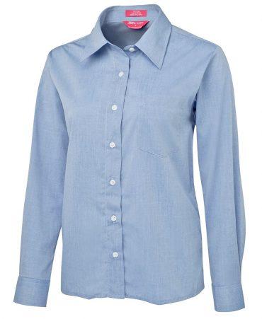 Ladies' Corporate Long Sleeve Chambray Shirt