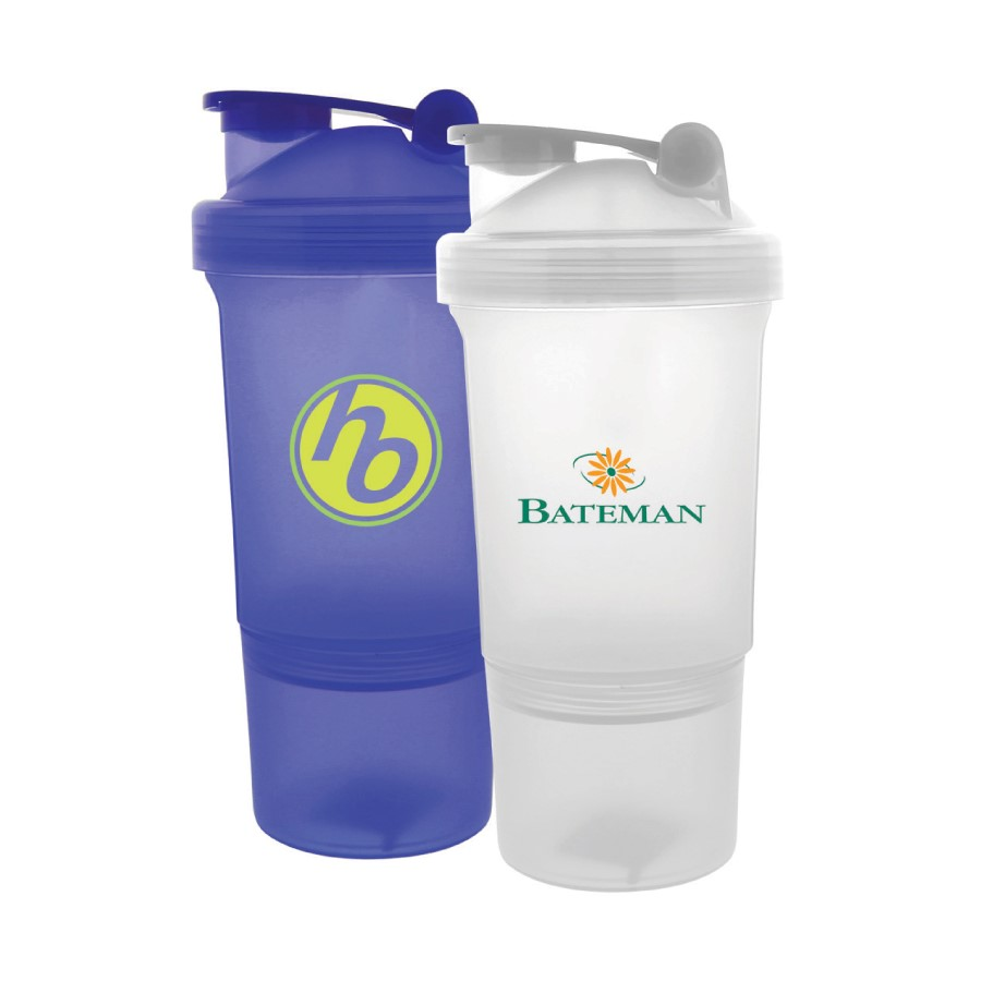 Use power shakers as a gift with purchase