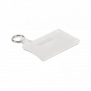 Badge Holder Key Ring- Double