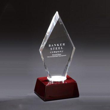 Crystal Pentagon Award...
