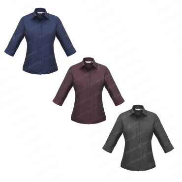 Concealed button placket...