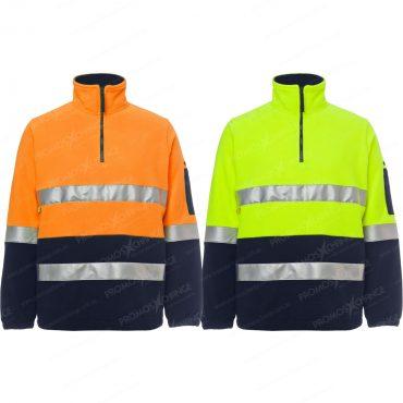 Day&Night Safety Half-Zip...