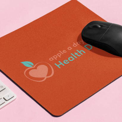 Free promotional products for community organisations featuring mouse pads at PromosXchange